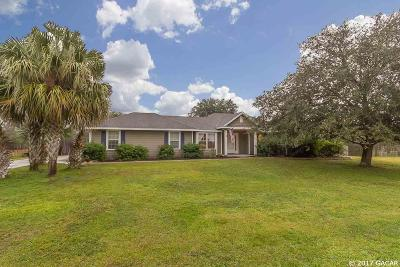 Gainesville Single Family Home For Sale: 9209 SW 96th Terrace