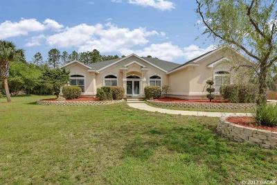 Newberry Single Family Home For Sale: 12316 SW 11th Avenue