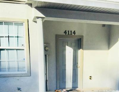 Gainesville Condo/Townhouse For Sale: 4114 SW 15