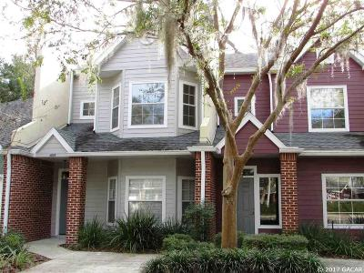 Gainesville Condo/Townhouse For Sale: 4925 NW 1st Place