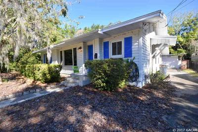 Gainesville Single Family Home For Sale: 1025 NE 5th Street