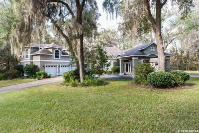 Gainesville Single Family Home For Sale: 11626 SW 6th Lane