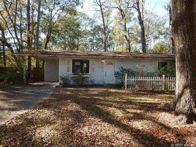 Gainesville FL Single Family Home For Sale: $88,900