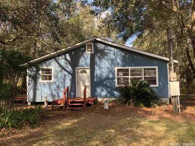 Newberry Single Family Home For Sale: 27904 SW 114 Place