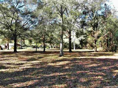 High Springs Residential Lots & Land For Sale: NW 194th Avenue