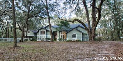 Gainesville Single Family Home For Sale: 8318 SW 103rd Avenue