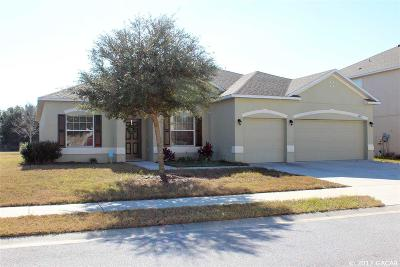 Newberry Single Family Home For Sale: 24405 SW 8TH Place