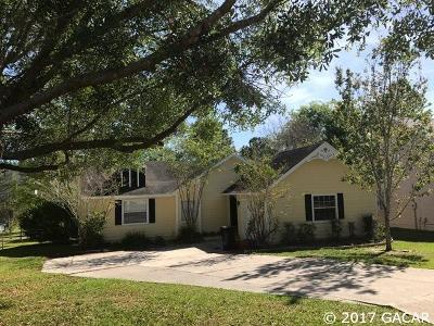 Gainesville Single Family Home For Sale: 3717 NW 84 Drive