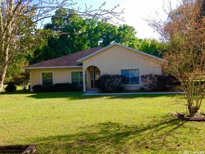 Citra Single Family Home For Sale: 1050 NE 165TH Street