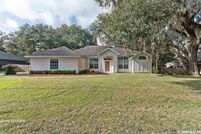 Alachua Single Family Home For Sale: 10512 NW 60TH Terrace