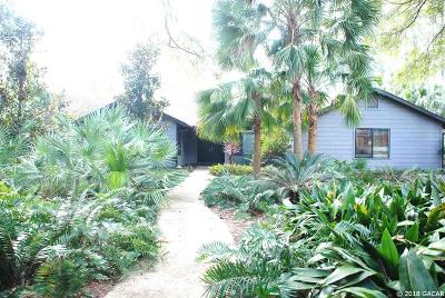 Gainesville Single Family Home For Sale: 2814 NW 58th Boulevard