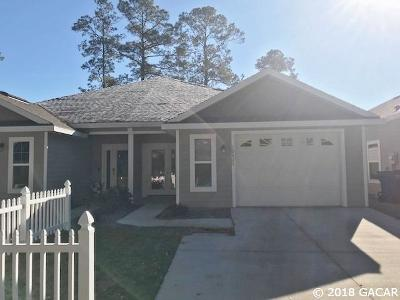 Alachua Condo/Townhouse For Sale: 10827 NW 65TH Way