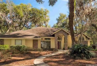 Gainesville Single Family Home For Sale: 4235 SW 91ST Drive