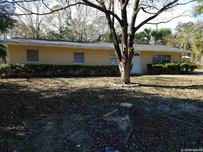 High Springs Single Family Home For Sale: 17338 NW 242nd Street