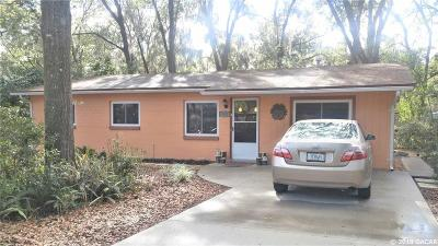 Gainesville FL Single Family Home For Sale: $157,500