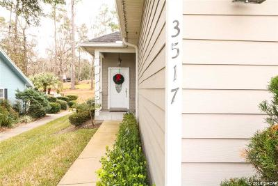 Gainesville Single Family Home For Sale: 3517 NW 104th Drive