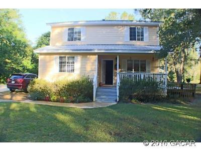 Micanopy Single Family Home For Sale: 22484 NW 87th Avenue