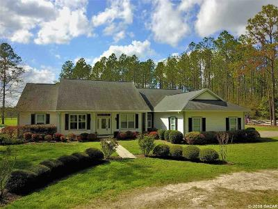 Alachua Single Family Home For Sale: 28918 NW County Road 241