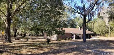 High Springs Single Family Home For Sale: 5229 NE 50th Court