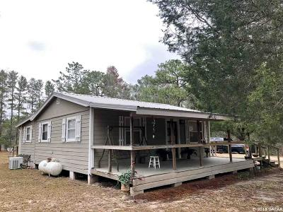 Williston FL Single Family Home For Sale: $111,900