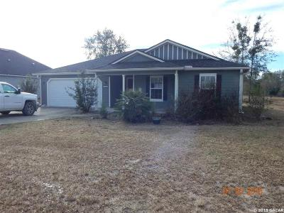 Newberry Single Family Home For Sale: 25643 NW 8TH Road