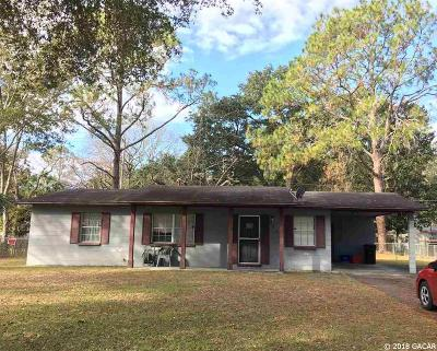 Gainesville FL Single Family Home For Sale: $62,000