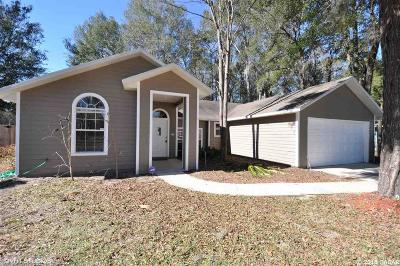 Gainesville FL Single Family Home For Sale: $198,700
