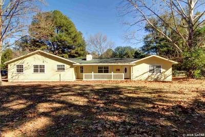 Gainesville Single Family Home For Sale: 2023 SW 120TH Terrace
