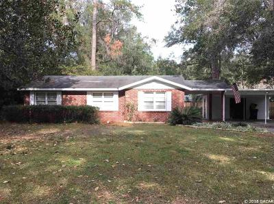 Gainesville Single Family Home For Sale: 1114 NW 13th Avenue