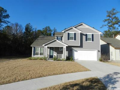 Gainesville Single Family Home For Sale: 5436 NW 83 Place