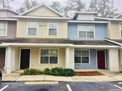 Gainesville Condo/Townhouse For Sale: 4237 SW 22ND Lane #135