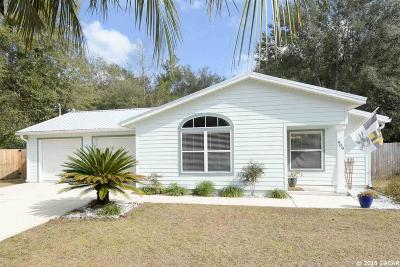 Newberry Single Family Home For Sale: 909 SW 255 Street