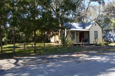 Gainesville Single Family Home For Sale: 612 NW 3 Street