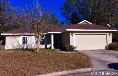 Gainesville Single Family Home For Sale: 4527 NW 34TH Drive