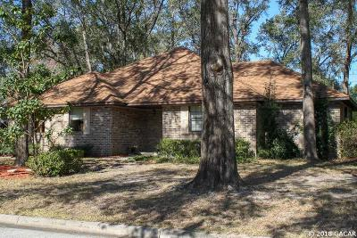 Gainesville Single Family Home For Sale: 3740 NW 17TH Lane