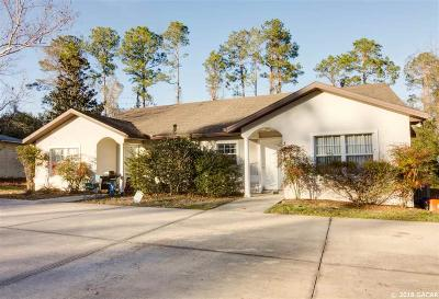 Gainesville FL Multi Family Home For Sale: $191,800