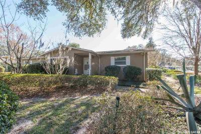 Gainesville Single Family Home For Sale: 3031 NW 22ND Street