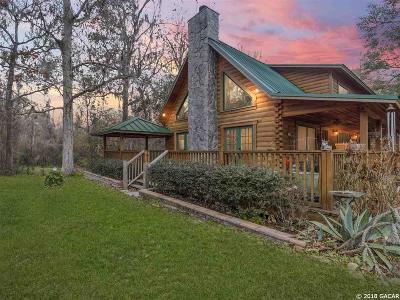 Alachua Single Family Home For Sale: 24002 NW 54th Terrace