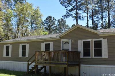 Alachua Single Family Home For Sale: 8109 NW 202nd Avenue