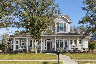 Newberry Single Family Home For Sale: 589 SW 128TH Terrace
