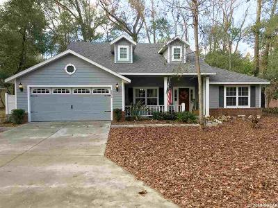 Gainesville Single Family Home For Sale: 3832 SW 21st Drive