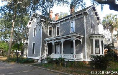 Gainesville Single Family Home For Sale: 708 E University Avenue