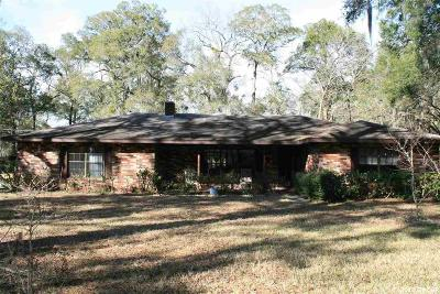Chiefland Single Family Home For Sale: 8991 NW 115th Street