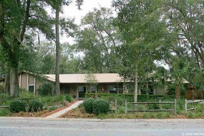 Gainesville Single Family Home For Sale: 3850 NW 35th Place