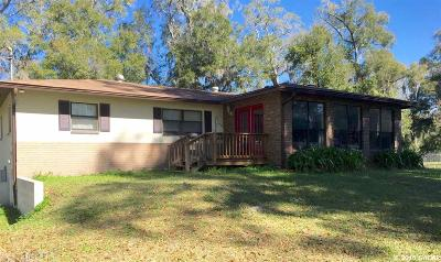 Alachua Single Family Home For Sale: 16411 NW US Highway 441