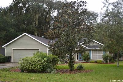 Alachua Rental For Rent: 11710 NW 74th Terrace