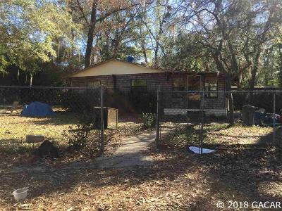 Reddick Single Family Home For Sale: 18447 NW 57TH