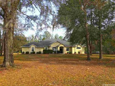 Gainesville Single Family Home For Sale: 8850 SW 89th Lane