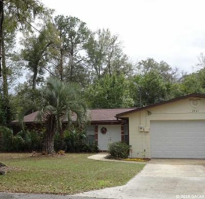 Gainesville Single Family Home For Sale: 3941 W University Avenue