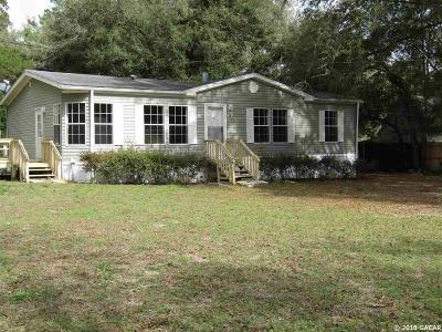 Newberry Single Family Home For Sale: 25934 SW 2nd Avenue